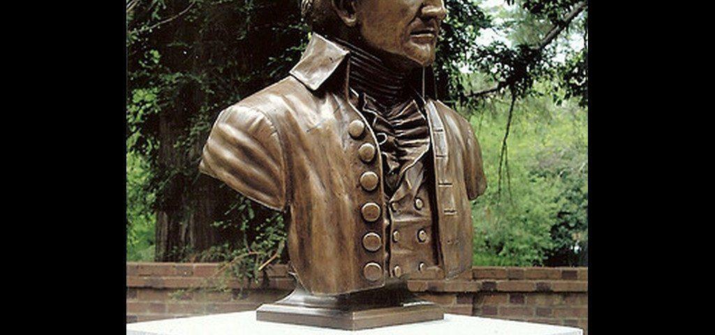 Historical Sculpture - President John Tyler