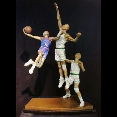 Basketball Sculpture - Hang Time