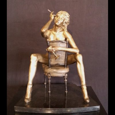 Nude Sculpture - Lost in Thought