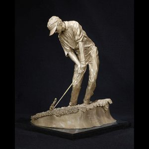 Golf Sculpture - Out of the Rough