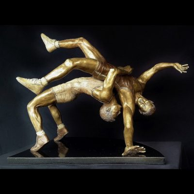 Wrestling Sculpture - Suplay