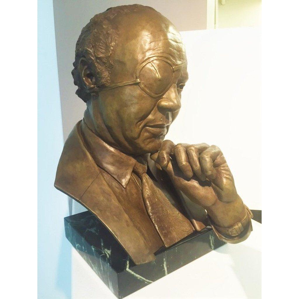 Historical Sculpture - James Farmer Bust