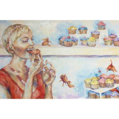 Amanda Pauses Calorie Count