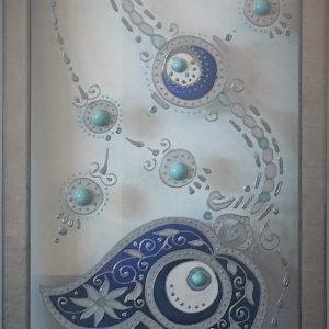 Silver Hamsa chain