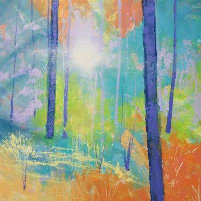 Blue Trees II