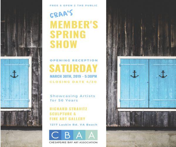CBAA Member Spring Show