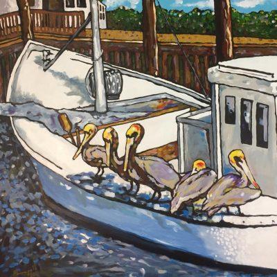 A Scoop of Pelicans