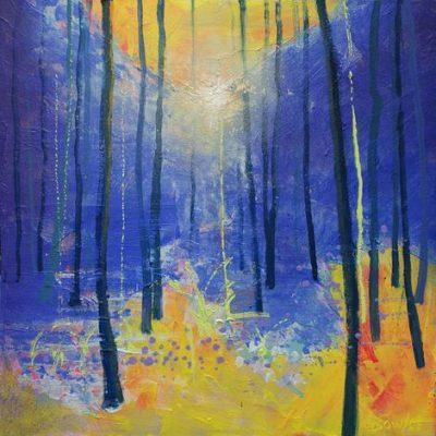 The Deep Woods - ultramarine
